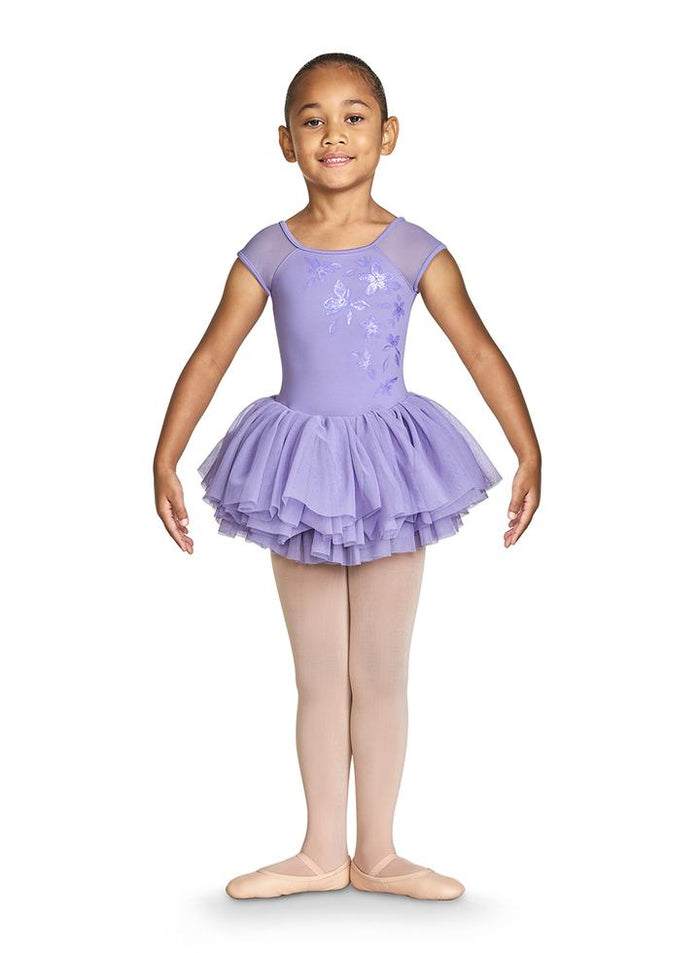 Bloch CL4910 Shirina Shimmer Cap Sleeve Tutu Leotard