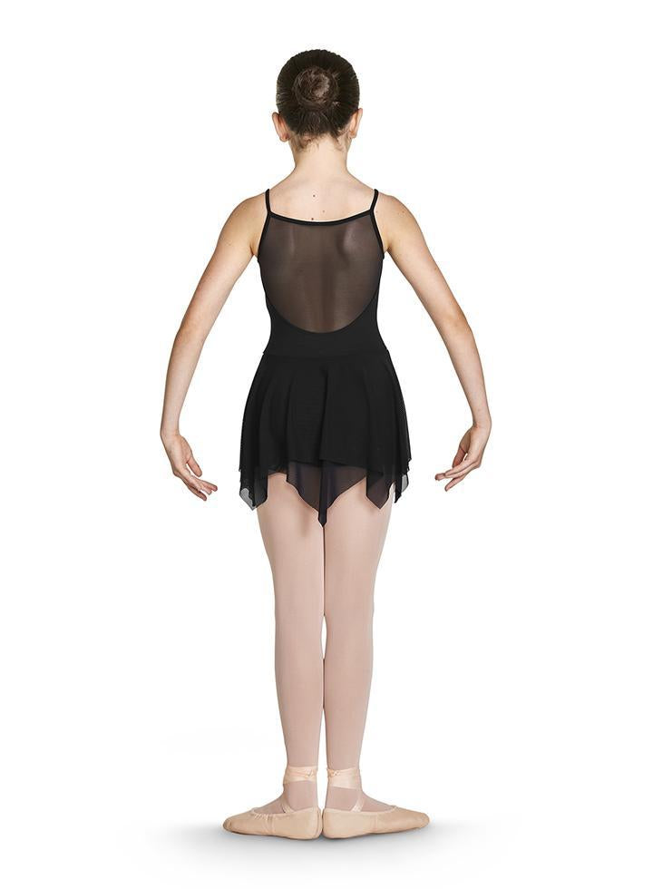 Bloch CL4911 Millicent Shimmer Print Camisole Skirted Leotard