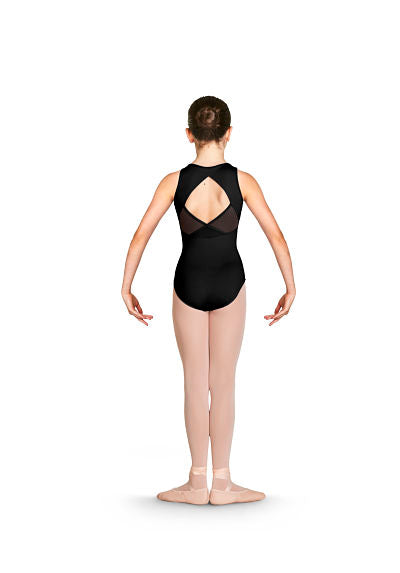 Bloch CL4920 Katana Shimmer Wrap Back Tank Leotard