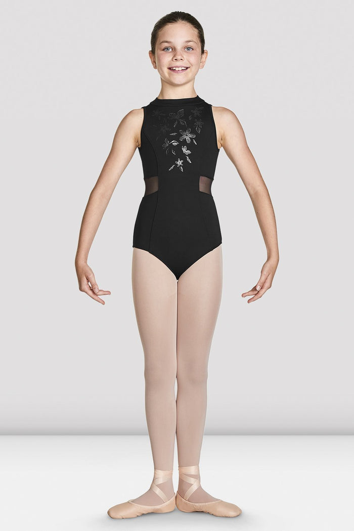 Bloch CL4930 Adrika Shimmer Print High Neck Leotard