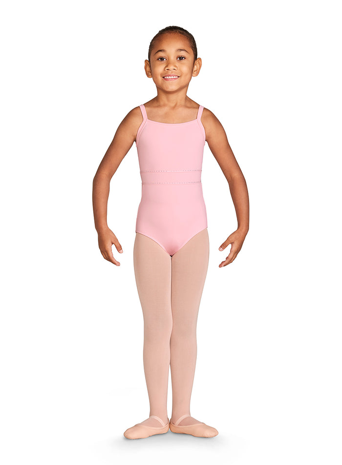 Bloch CL4997 Diamante Trim Mesh Back Cami Leotard