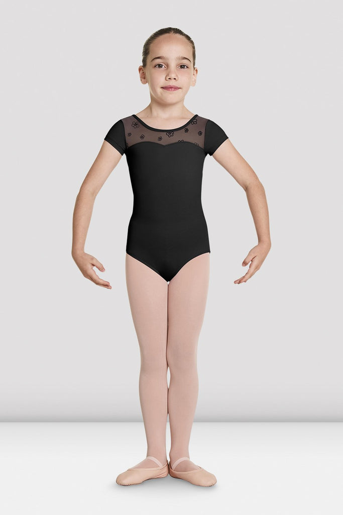Bloch CL8752 Antheia Girls Cap Sleeve Leotard