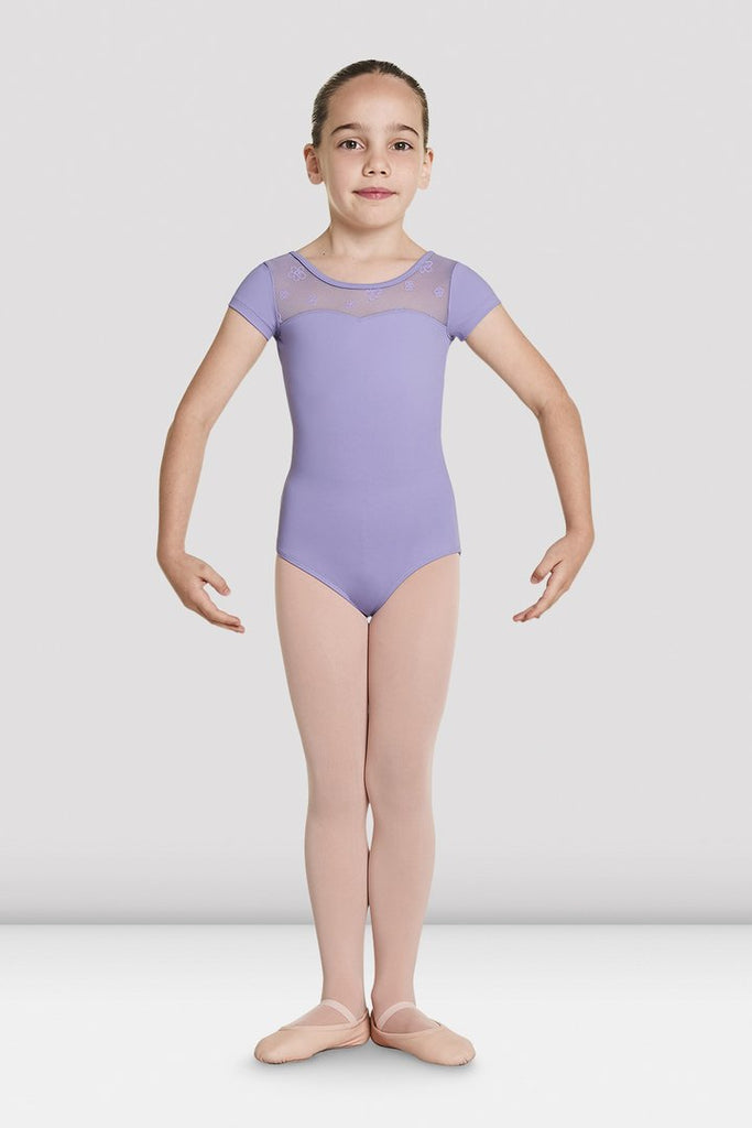 Bloch CL8752 Antheia Girls Cap Sleeve Leo