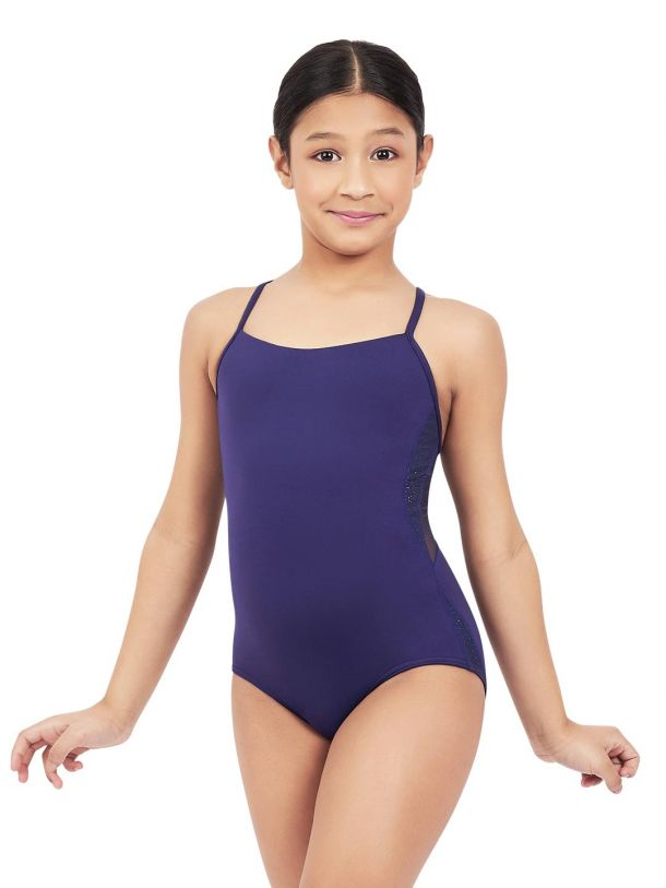 Capezio 11572T Cosmos T Back Camisole Girls Leotard