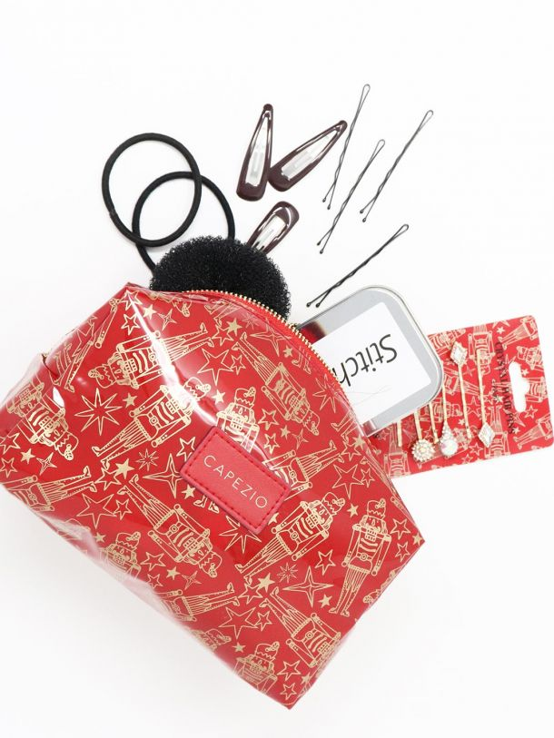 Capezio Holiday Nutcracker Makeup Bag