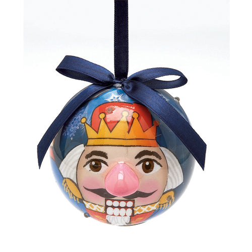 Dasha Blinking Nutcracker Ornament