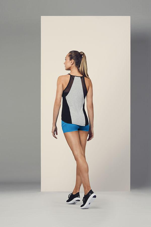 Bloch FT5207 Mesh Panelled Detail Top