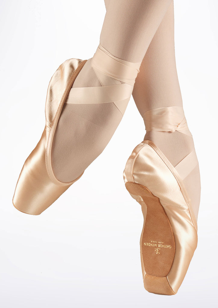 Gaynor Minden Pointe Shoe Sculpted (SC) 3 Supple (S) Pink