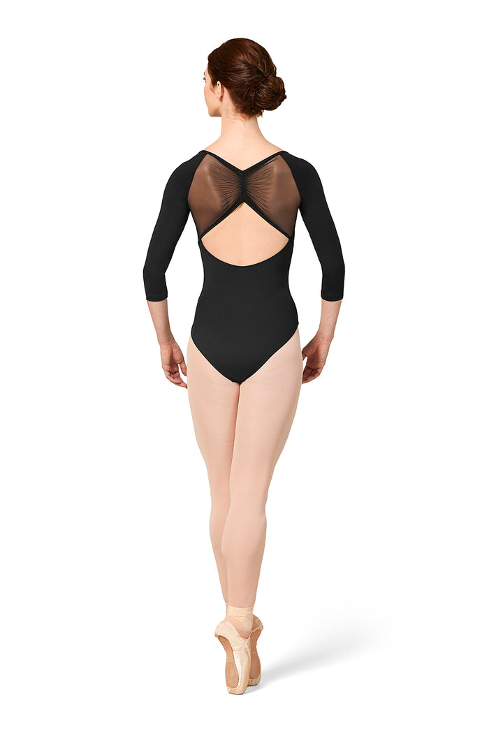 Mirella M1016LM 3/4 Sleeve Leotard