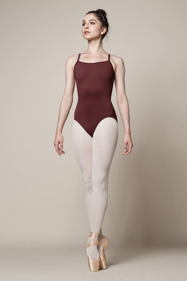 Mirells M4031LM Scoop  Neck Camisole Leotard