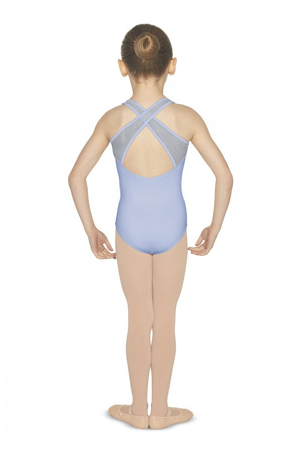 Mirella 452C Sweetheart Neckline Tank Leotard Child