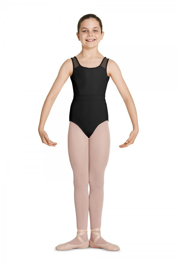 Mirella M457C Girls Tank Leotard