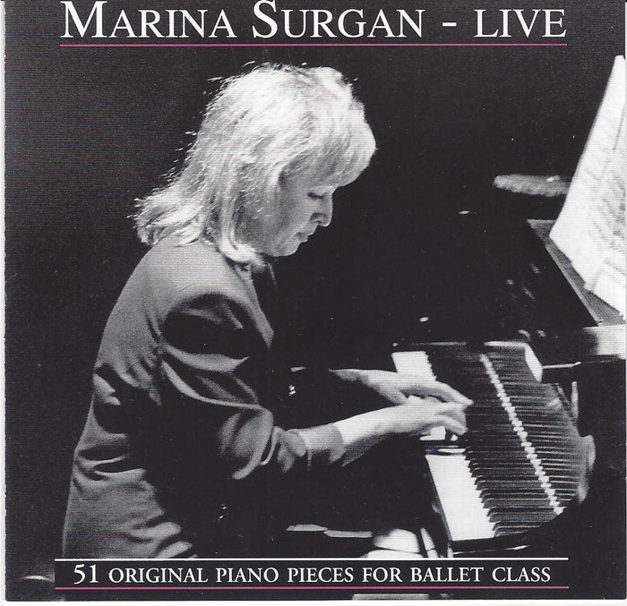 Marina Surgan Live CD - 51 Original Piano Pieces for Ballet Class