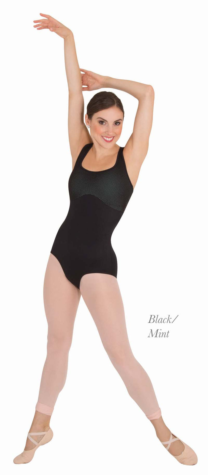 Body Wrappers P1152 Racer Back Leotard