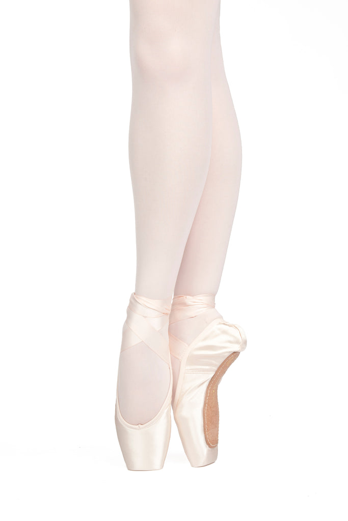 Russian Pointe  Rubin U-Cut Drawstring Pointe Shoe (FS)