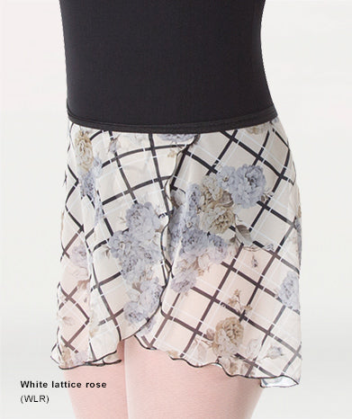 Body Wrappers Print Wrap Skirt