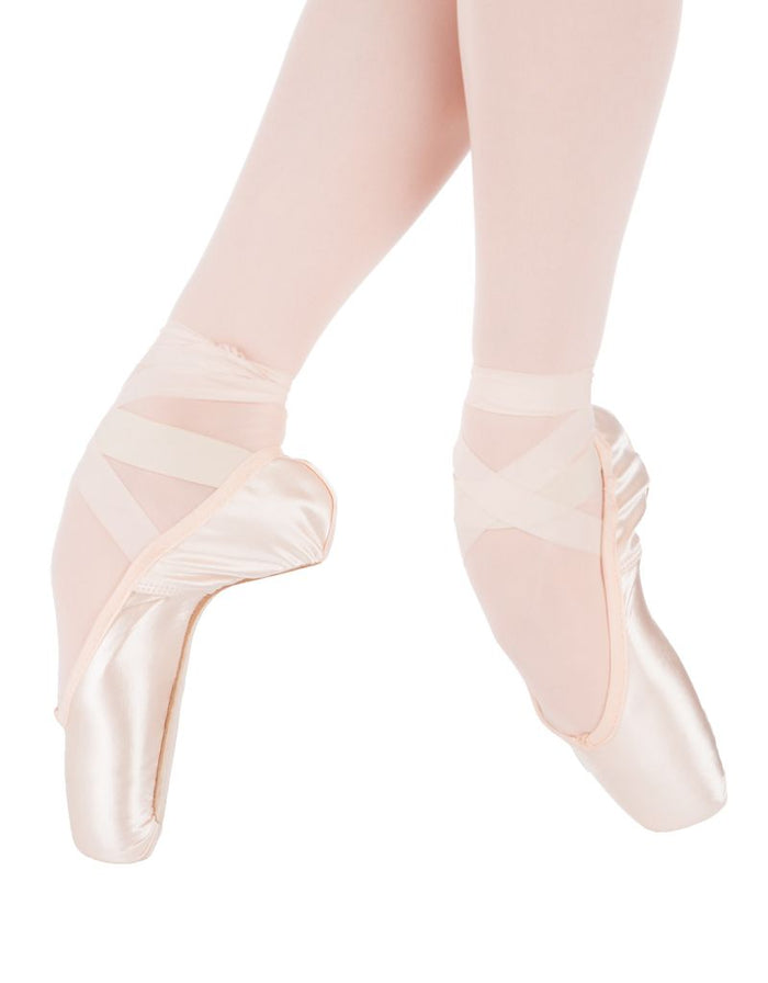 Suffolk Solo Hard  Pointe Shoe Size 2-4.5
