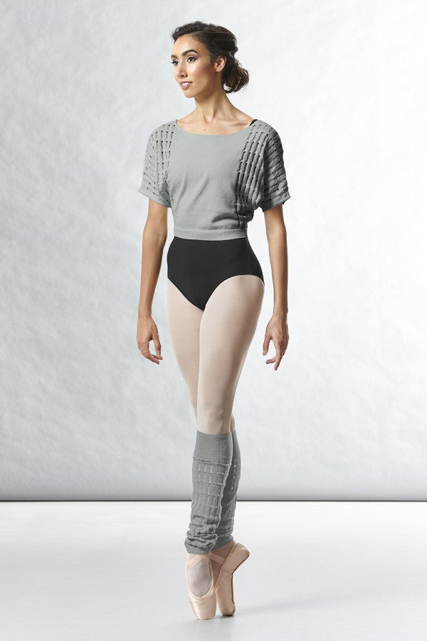 Bloch Z5522 Tatiana Knit Warm-up Top