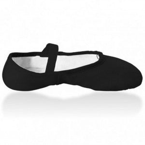 Sansha Canvas slipper black