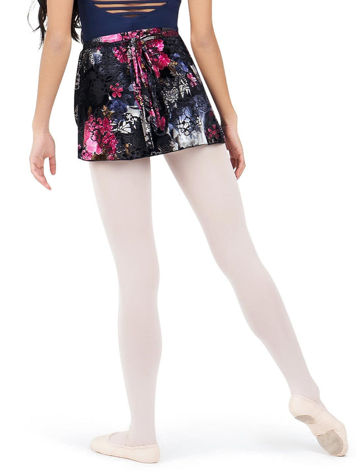 Capezio 11713W botanical Wrap Skirt