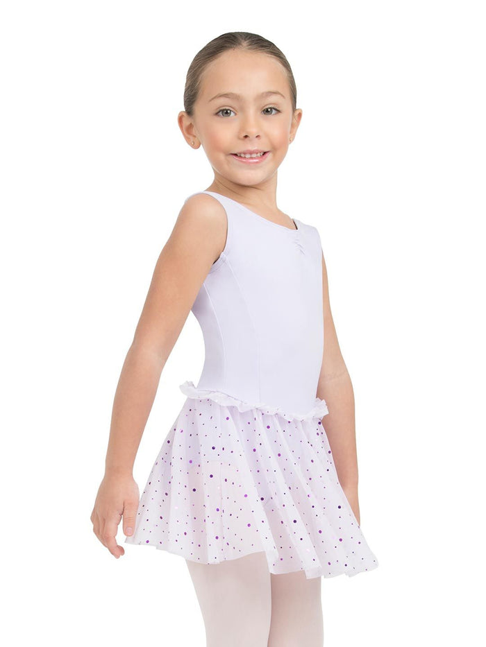 Capezio 11532 Glitter Rose Tank dress