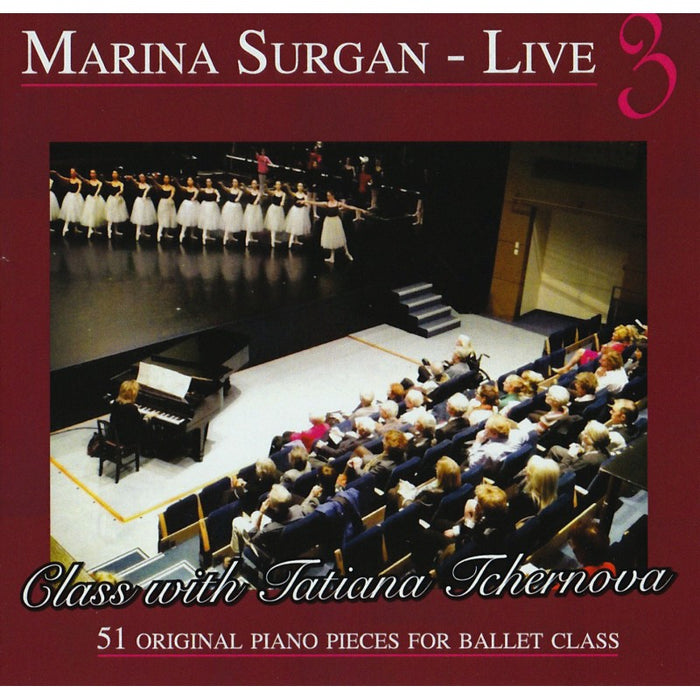 Marina Surgan Live 3 CD - Ballet Class Music for All Levels