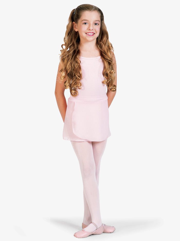 Mirella S12 Child Mock Wrap Skirt