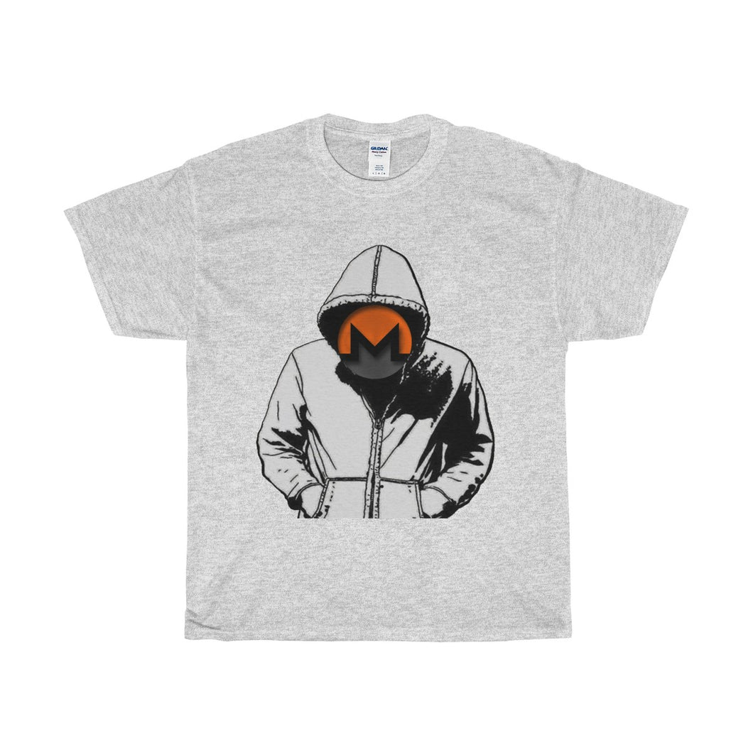 Monero Hooded Man Cotton T-Shirt
