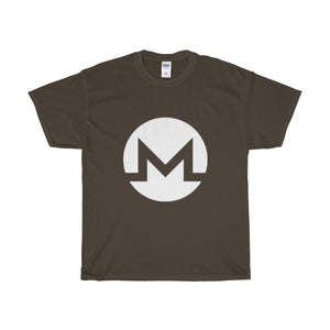 Monero Logo Heavy Cotton T-Shirt