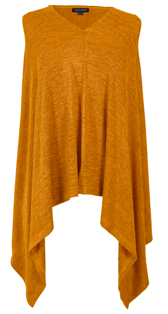Simply Southern Mustard Poncho