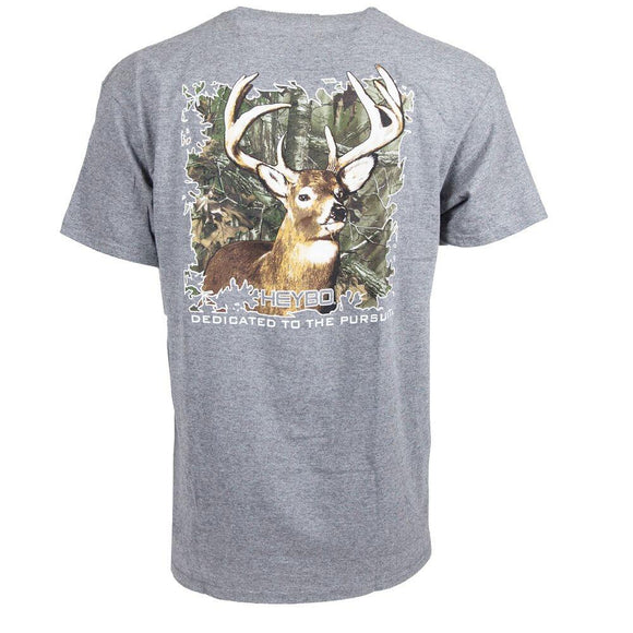 Heybo 10 Point Grey Tee