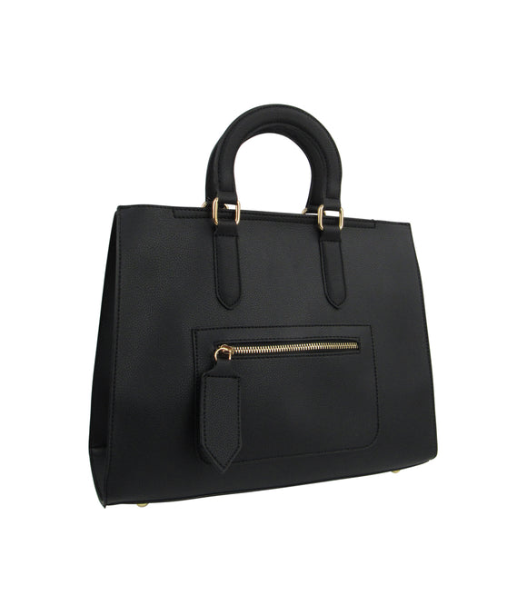 2-in-1 Stachel Handbag - Black