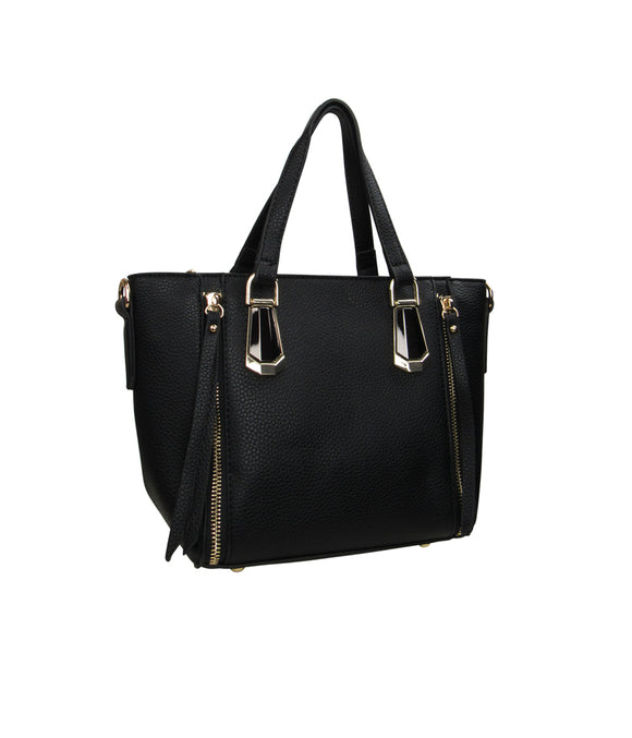Mini Tote Handbag Black