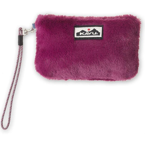 Kavu Plush Clutch Port Royal