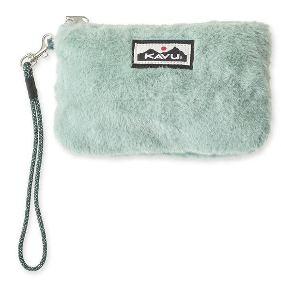Kavu Plush Clutch Winter Green