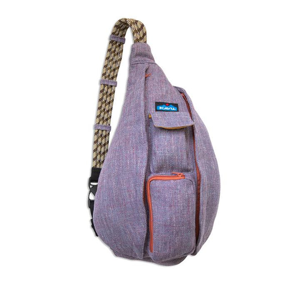 Kavu Rope Tweed Vintage Violet Sling Pack