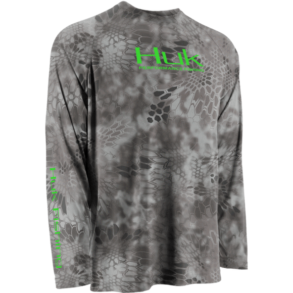 Huk Kryptek Performance Raglan Long Sleeve Raid