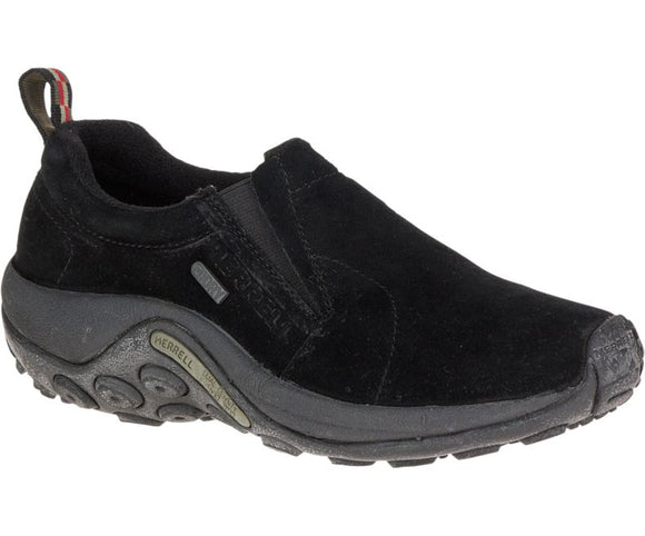 MERRELL WOMEN'S JUNGLE MOC WATERPROOF BLACK