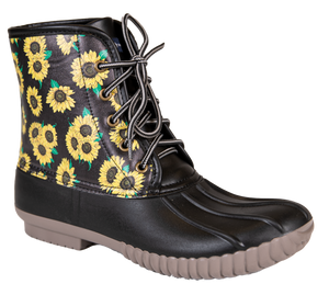 Simply Southern Sunflower Duck Boots