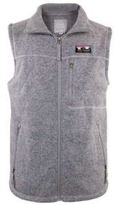 Simply Southern Sweater Knit Vest Gray
