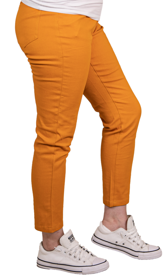 Simply Southern Ladies Pants Mustard SALE