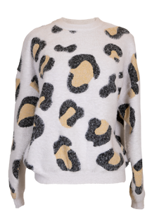 Simply Southern Cheetah Sweater