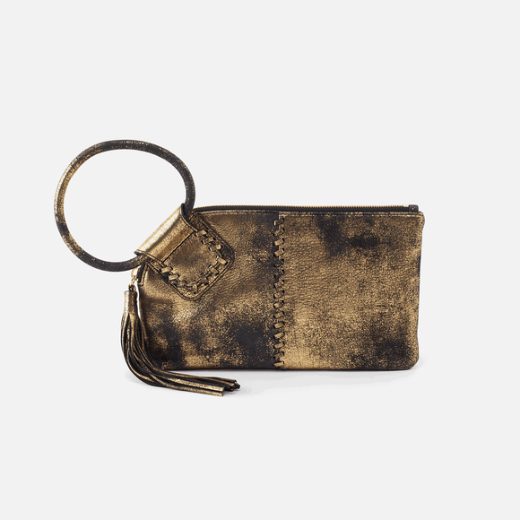 Hobo Sable Wristlet Heavy Metal