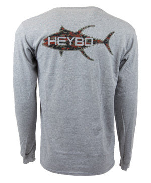 Heybo Tunaflage Long Sleeve Tee Shirt