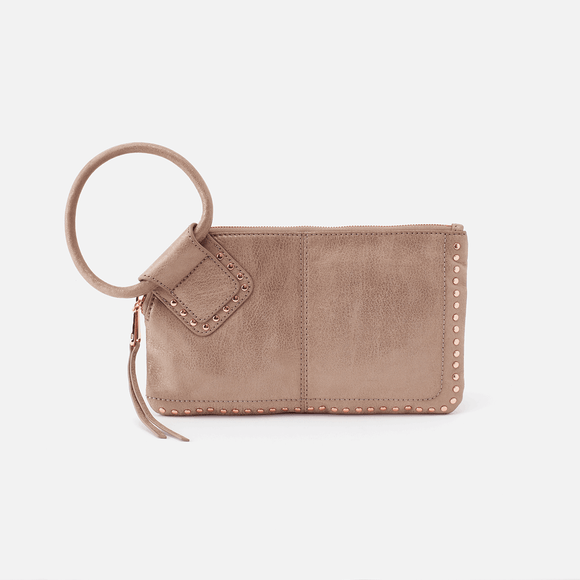 Hobo Sable Wristlet Rose Dust
