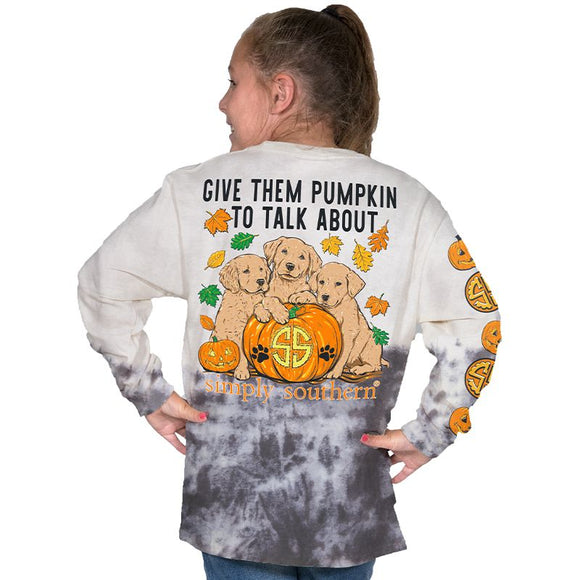 Simply Southern Youth Pumpkin to Talk About