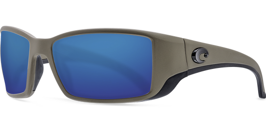 Costa Blackfin Moss Blue Glass Polarized Sunglasses