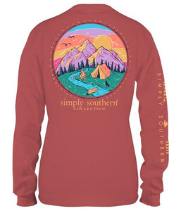 Simply Southern Camp Long Sleeve Spice