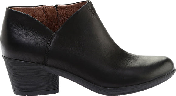 Dansko Raina Black Bootie