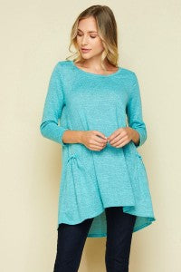 Mint Baby Doll Top